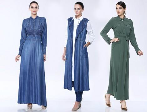 Seçil Store Tesettür Elbise Modelleri 2016