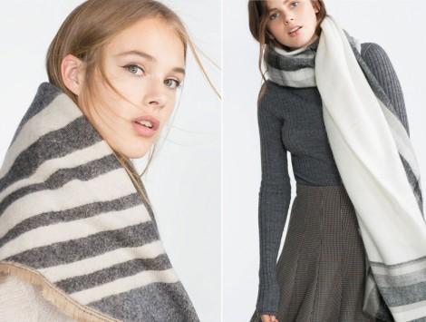 Zara Battaniye Şal Modelleri 2016