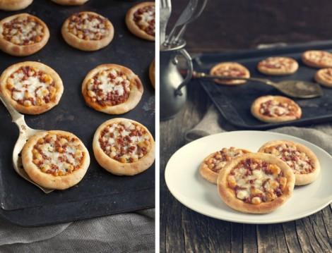 Çocuklar İçin Mini Pizza