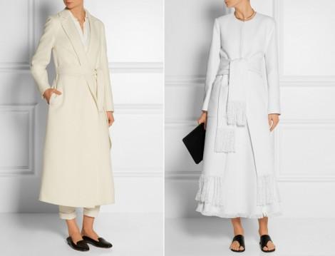 Beyaz Tesettür Giyim Modelleri