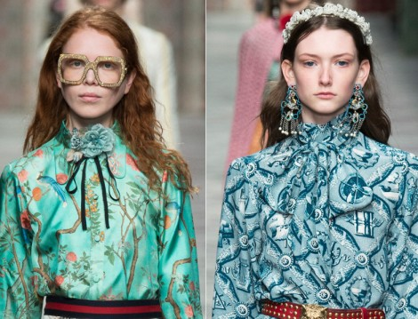Gucci 2016 İlkbahar Yaz Koleksiyonu