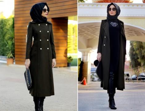 Zamansız Tesettür Giyim Modelleri 2016