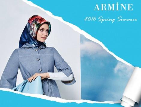 Armine 2016 Eşarp Modelleri