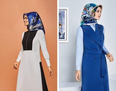 Armine Giyim 2016 İlkbahar Yaz Tesettür Modelleri