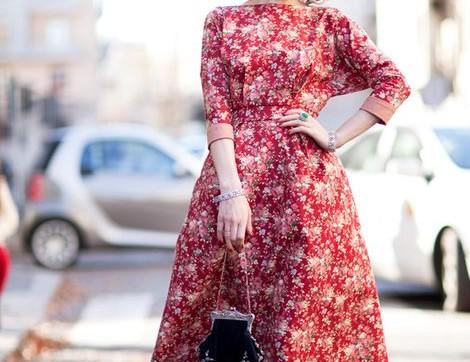 Belinizi İnce Gösterecek A Kesim Elbise Kombinleri