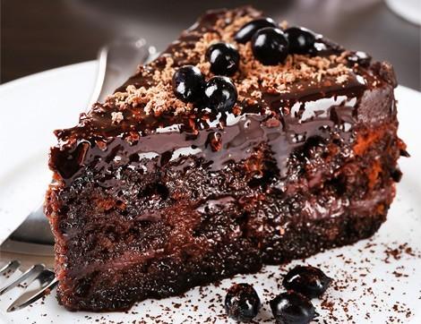 Bitter Çikolatalı Pasta Nasıl Yapılır?