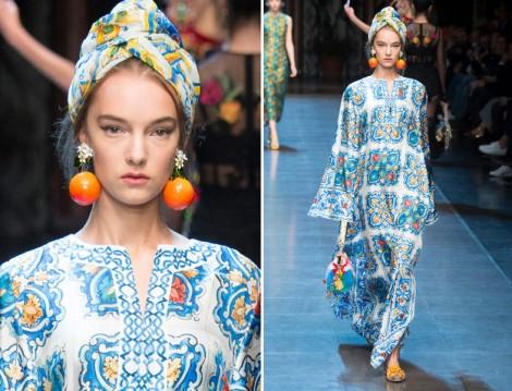 Dolce Gabbana 2016 Yaz Elbise Modelleri