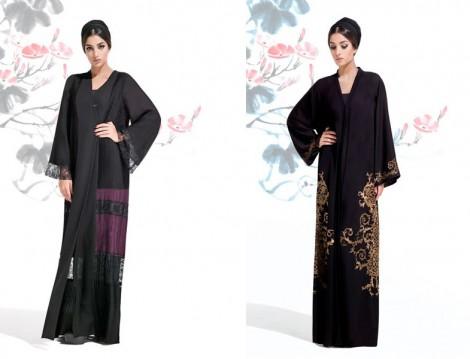 Dubai 2016 Abaya ve Ferace Modelleri Mauzan
