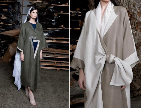 Dubai Abaya Modelleri 2015 Yaz Slouchy'Z