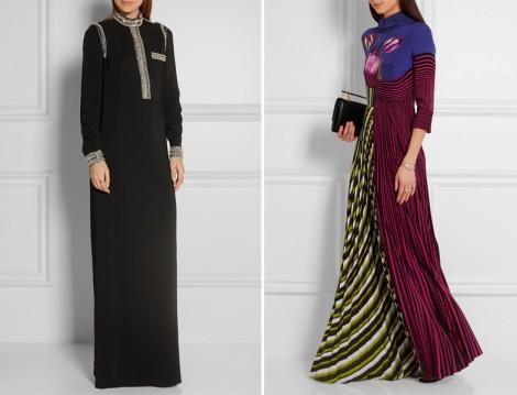 Genç Tesettür Abiye Elbise Modelleri 2016