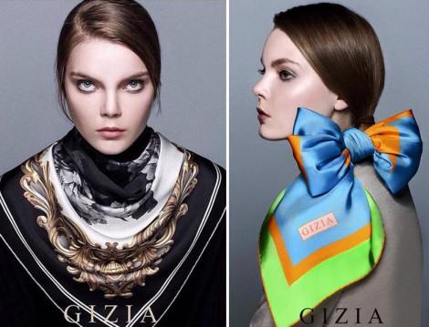 Gizia 2016 Eşarp Modelleri