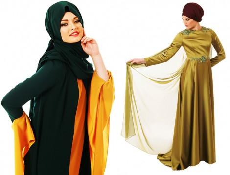 Hayalen Moda Evi Tesettür Abiye Elbise Modelleri 2016