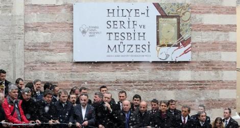 Hilye-i Şerif ve Tesbih Müzesi Açılışı Recep Tayyip Erdoğan