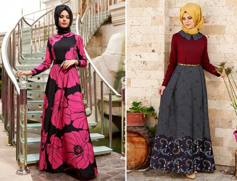 Nilüfer Kamacıoğlu Tesettür Elbise Modelleri