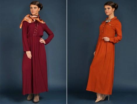 Nova Butika Tesettür Elbise Modelleri