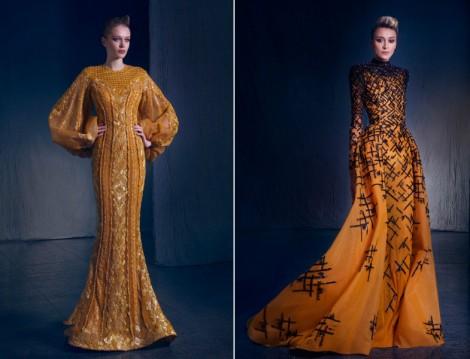 Tesettür Abiye Elbise Modeli 2016