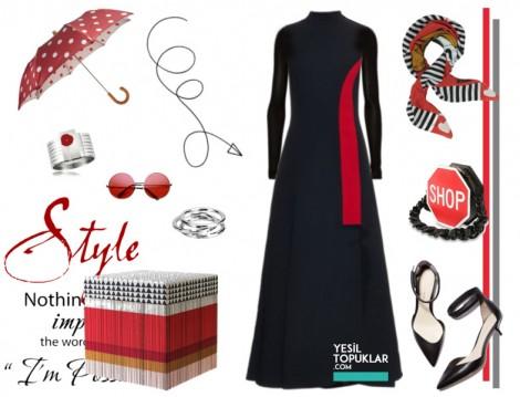 Tesettür Kombin 2016 Elbise Modelleri