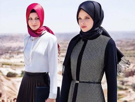 Tesettür Ofis Giyim ve İş Görüşmesi İçin Kıyafet Modelleri