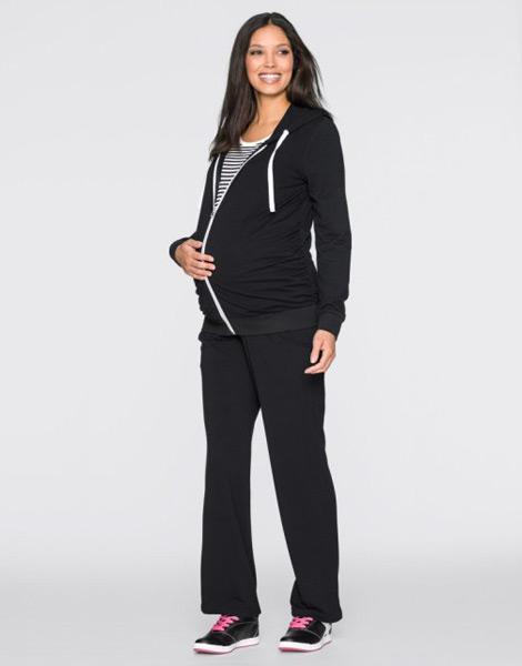 Pantolon, Ceket ve Tişörtten 3 Parça Hamile Giyim Takımı Bonprix
