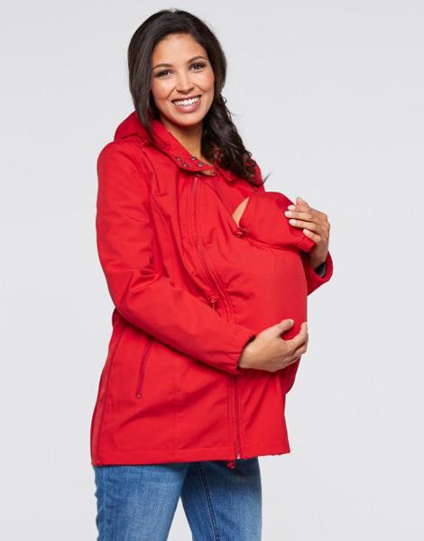 Hamilelik ve Doğum Sonrası Emzirme Ceketi Baharlık Bonprix