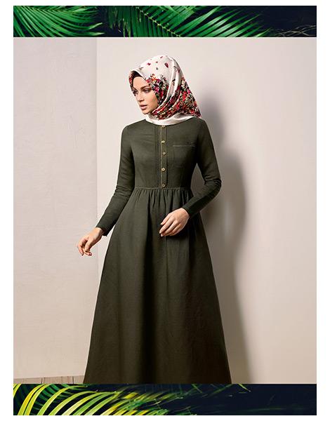 77289a9fb64f1 Armine 2016 İlkbahar-Yaz Elbise Modelleri-5