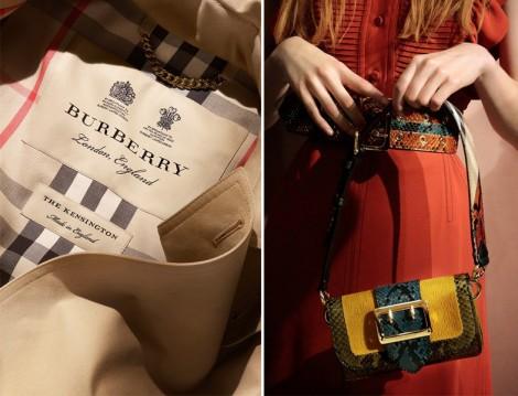 Burberry 2016 Şimdi Gör Şimdi Al Modası