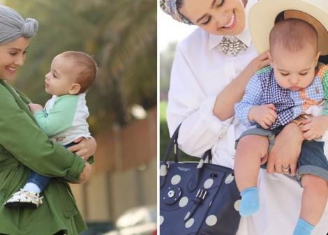 Genç Anneler için Tesettür Giyim Modelleri