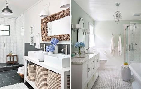 Minimal Banyo ve Lavabo Dekorasyon Örnekleri