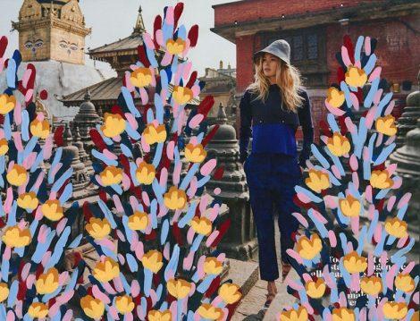 Graffiti Sanatçısı Michael De Feo'nun Çiçek Sanatı