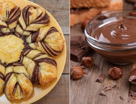 Sürme Çikolatalı Çiçek Ekmek Tarifi
