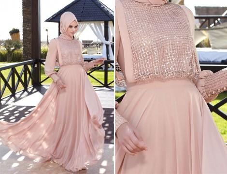 Tesettür Mezuniyet Elbise Modelleri 2016