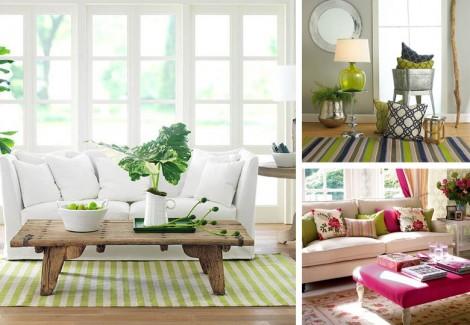 Yeşil Ev Dekorasyon Örnekleri