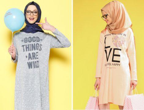 2016 Modern Tesettür Giyim Modelleri
