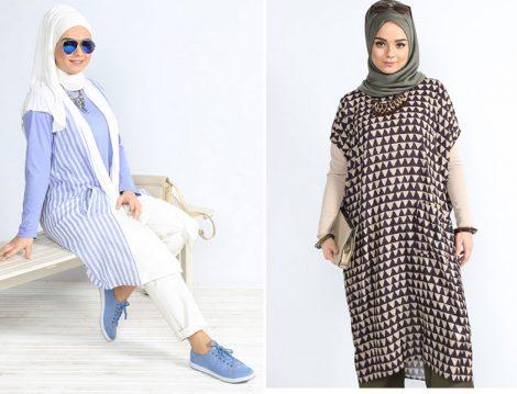 Alia Giyim 2016 Büyük Beden Tesettür Modelleri