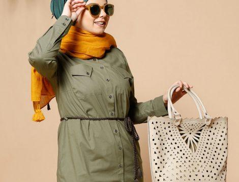 Alia Giyim Büyük Beden Tesettür Modelleri