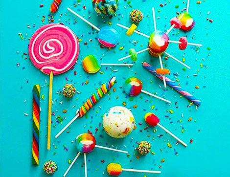 Şekersiz Şeker: Big Dessert Lolipop