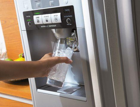 Hitachi Buzdolabı Soğuk Su ve Buz Pınarı
