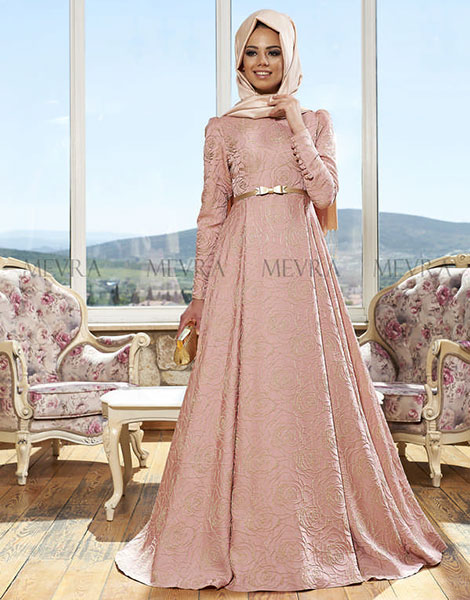 c05a8faa82a0e Mevra'dan Mezuniyet Gecelerine Özel Tesettür Abiye Elbiseler-1