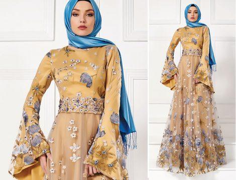Tekbir Giyim 2016 İlkbahar Yaz Abiye Elbise Modelleri