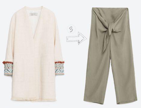 Zara Tesettür Giyim Kombinleri 2016 Yaz