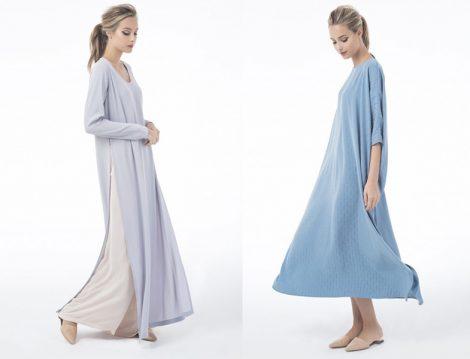 2016 Yazlık Tesettür Elbise Modelleri