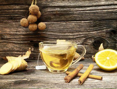 Antioksidan Etkili Zencefil Çayı