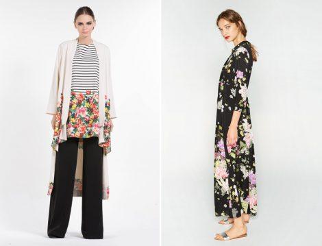 Desenli Tesettür Giyim Modelleri 2016 Yaz