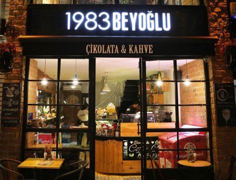 El Yapımı Bayram Çikolataları 1983 Beyoğlu Çikolata & Kahve