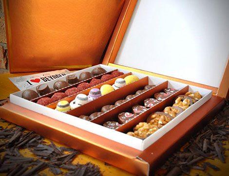 El Yapımı Bayram Çikolataları 1983 Beyoğlu Çikolata & Kahve'de