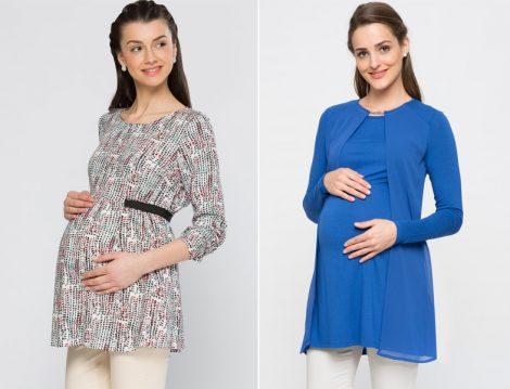 Hamileler için Tesettür Giyim Modelleri 2016