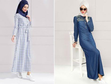 Refka Yazlık Tesettür Elbise Modelleri