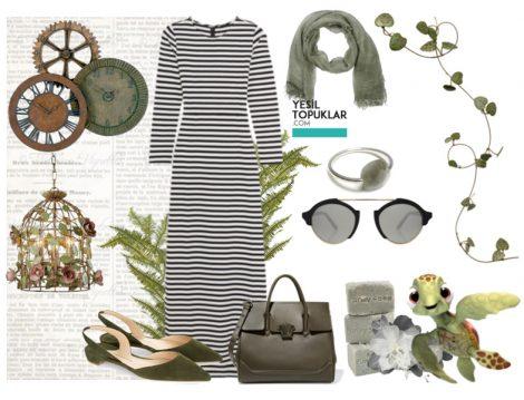 Tesettür Elbise Kombinleri 2016 Yaz