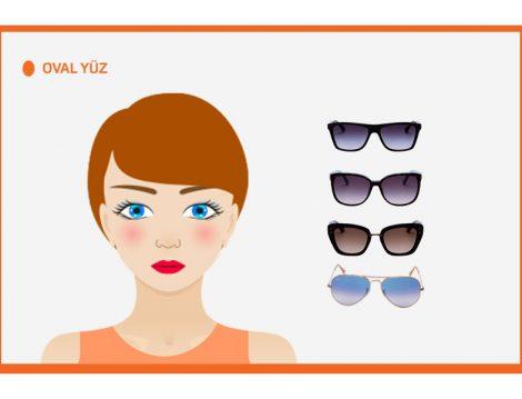 Oval Yüz Şekline Göre Güneş Gözlüğü Seçimi
