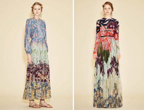 2016 Yaz Tesettür Elbise Modelleri